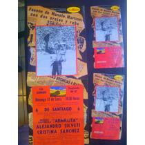 Cartel Y Boletos De Toros Plaza Mexico 96-97