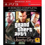 Grand Theft Auto Iv Gta Complete Edition Ps3 Mídia Física