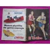 Revista El Grafico N° 2054 Poster: Boca Juniors 1958 - Boxeo