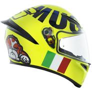 Capacete Agv K1 Mugiallo Amarelo Valentino Rossi
