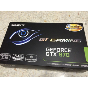 Tarjeta De Video Gigabyte Gtx 970 G1 Gaming 4gb Ddr5 Factura