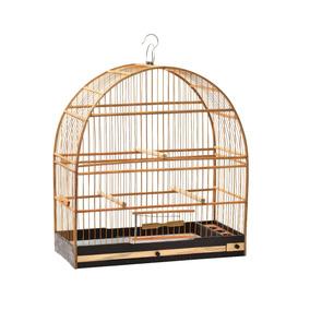 Gaiola Madeira Nº 04 Fibra - Pássaros Pequeno Porte