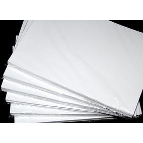 Papel Fotografico Adhesivo Brillante A4, Paquete, 50unid