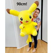 Pikachu Pokemon De Pelúcia Grande Gigante 90cm X 50cm
