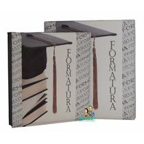 Álbum Formatura Luxo C/ Estojo Em Madeira_15x21,20x25,24x30