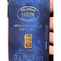 Lingote De Oro 1 G Fino 24k Igr 999.9