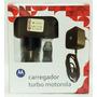 Carregador Motorola Turbo G4 X2 Maxx Force Droid - Lacrado
