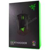 Mouse Razer Deathadder Elite 16000 Dpi Óptico - Chroma