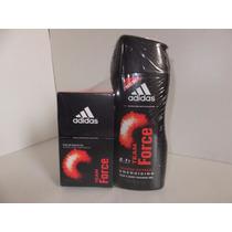 Perfume Colonia Adidas T. Force (2 En 1) Caballeros Original