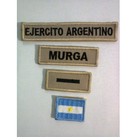 Insignia Galón Apellido Ejercito Argentino