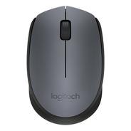 Mouse Logitech M170 Sem Fio Rc Nano