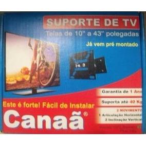 Suporte Tv Articulado Monitor Led Lcd 10 A 43 Polegadas