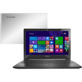 Notebook Lenovo Dual Core 4gb Hd500 Tela 15 Pol - Novo