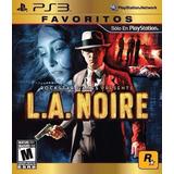 L. A. Noire Ps3 Fisico Usado Original