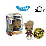 Baby Groot Exclusivo Funko Pop Guardians Of The Galaxy Vol 2