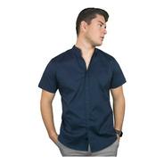 Camisa Manga Corta Stretch
