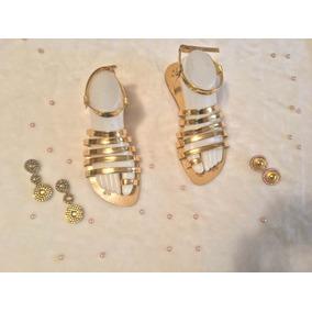 Sandalias De Dama Moda Exclusiva Diseño Venezolano Tendenc