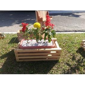 Floreiras Sustentaveis Fabricado Com Madeira De Pallets