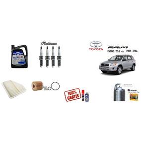 Kit Afinacion Toyota Rav4 09-14 2.5 L Ngk Iridium Sintetico