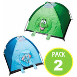Pack 2 Carpa Casa Niño Elefante 115cm Camping 13685 Fernapet