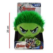 Peluche Hulk 25 Cm Con Luz - Marvel Original Phi Phi Toys