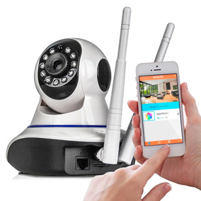 Câmera Ptz Ip 1.3mp 720p Hd Wireless Wifi Audio Sd P2p