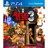 Metal Slug 3 Ps4 Prim Lgames