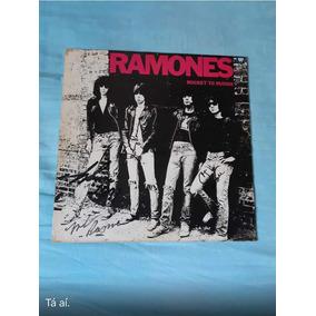 Disco Lp Ramones Autografado Por Todos