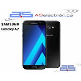 Samsung Galaxy A7 2017 32gb Lte 16 Mpxl Huella Nuevos Libres