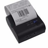 Mini Impressora 80mm Térmica Fujilink Bluetooth Kit 3pças Nf