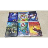 Dvd Disney Sirenita Peter Pan Guarida Leon Originales Nuevos