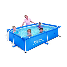 Piscina Splash Frame Pool 2.39m X 1.50m X 58cm, 56402
