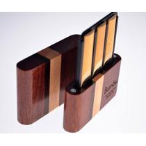Porta Cañas Clarinete Marca Bambú X 6 Cañas