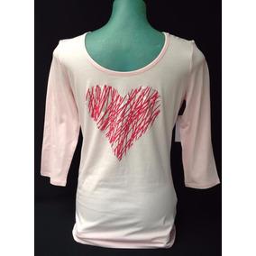 Camiseta Feminina Ny & C ( New York Company ) Importada M