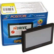 Gps Foston Tela 4,3 3d Fs-473 Tv Digital Camera Ré