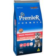 Ração Premier Cães Filhotes Raças Pequenas  20kg Pett