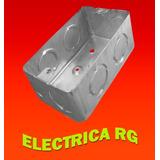 Caja Embutir Metálica Chapa Electricidad