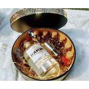 Caixa Gin + Especiarias + Inox Redonda Hambre