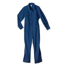 Mameluco De Trabajo Poliéster 65% Algodón 35% Azul T.48-60