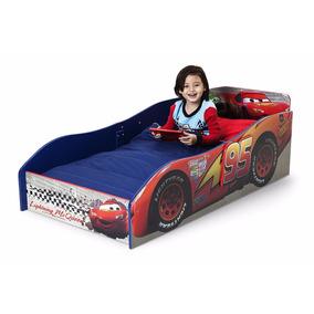 Cama De Lujo Madera Disney Cars