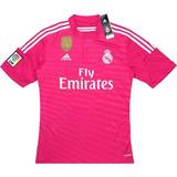 Camisa Oficial adidas Real Madrid + Patch Mundial E La Liga