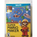 Súper Mario Maker Nintendo Wii U Nuevo Sellado Envío Gratis
