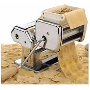 Maquina Fabrica Pastas Acero Fideos Raviolera Tallarin Cinta