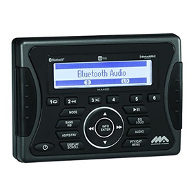 Jensen Marine Audio Ma400 Bluetooth Usb Ipod/iphone/ Siriusx
