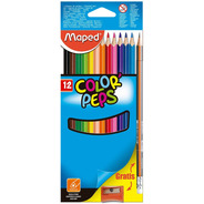 Colores Maped Peps 12pz