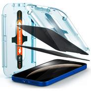 Vidrio Templado Spigen iPhone 12/12 Pro Antispy (x2u)