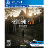 Resident Evil 7 Nuevo Sellado + Local + Fisico