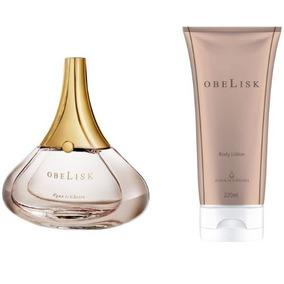 Perfume E Hidratante Obelisk Agua De Cheiro Original