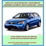 Manual De Taller Servicio Diagramas Kia Rio 2004-2011