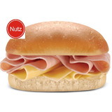 Nutz Delicias Pebete Jamon Y Queso Ideal Excursion